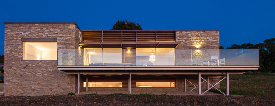 Contemporary Cotswold house designed by Abitalia