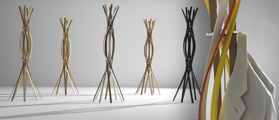Horm Twist coat stand - Abitalia