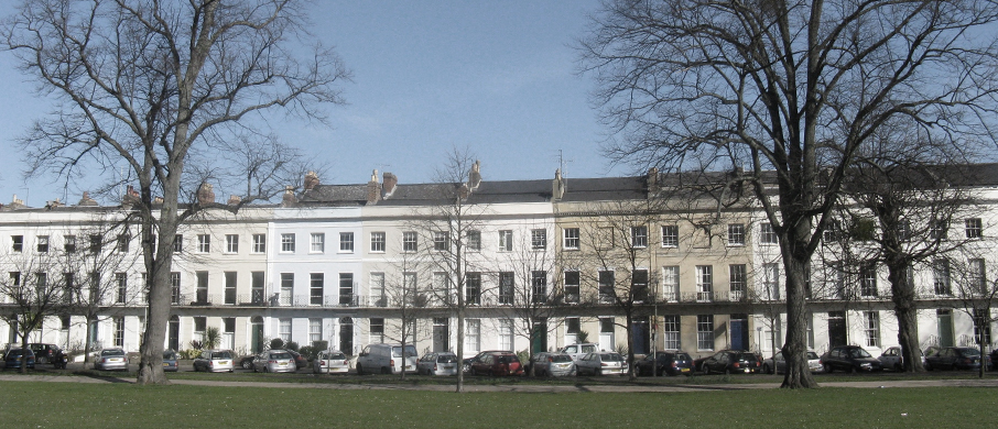 Chelenham Regency architecture