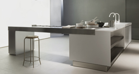 Contemporary hand made kitchens in Dorset