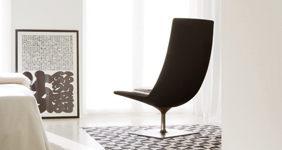 Arper chairs, dining chairs and tables